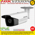 Hikvision DS-2CD2T45FWD-I5 4MP 4mm fixed Lens 50m IR 120dB WDR IP67 Darkfighter ultra low light Network IP Bullet Camera