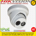 Hikvision 4MP 4mm fixed lens 30m IR Distance Darkfighter IP Network Turret Camera - DS-2CD2345FWD-I