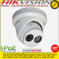Hikvision DS-2CD2345FWD-I 4MP 2.8mm fixed lens 30m IR Darkfighter Ultra low light IP Network Turret Camera