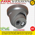 Hikvision 4MP 2.8mm fixed lens 30m IR Distance Darkfighter IP Network Turret Camera - DS-2CD2345FWD-I/Grey