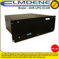 Elmdene UPS standby power to critical security applications such as PoE IP CCTV or Access Control systems - 4HR-UPS-8CAM