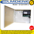 Elmdene New 'switchable' 12V dc / 24V dc switch mode range of power supplies  for access control and CCTV - G1224-84N-C