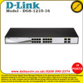 D-LINK 16-PORT GB SMART SWITCH INCLUDING 4 X SFP - (DGS-1210-16)