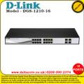 D-LINK 16-PORT GB SMART SWITCH INCLUDING 4 X SFP - (DGS-1210-16)