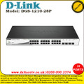 D-LINK 24 POE PORT WITH 4 X SFP PORTS WITH 193W POWER BUDGET - (DGS-1210-28P)