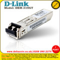 D-LINK 1 PORT MINI GBIC MODULE FOR 1000BASELX (LC DUPLEX) - (DEM-310GT)