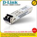 D-LINK 1 PORT MINI GBIC MODULE FOR 1000BASELX (LC DUPLEX) - (DEM-310GT)