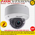 Hikvision DS-2CE56D8T-ITZE 2MP 2.8-12mm vari-focal lens 60m IR Ultra Low-light PoC EXIR Dome Camera
