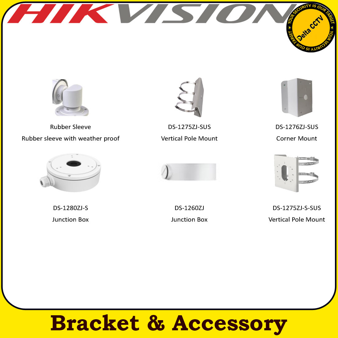 Hikvision DS-2CD2T65G1-I5 6MP 4mm fixed lens 50m IR