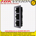 Hikvision DS-KD-ACF3/Plastic video intercom three gang accessory package
