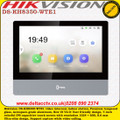 Hikvision DS-KH8350-WTE1 video intercom indoor station, 7-inch colorful IPS capacitive touch screen