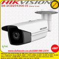 Hikvision  DS-2CD2T43G0-I5 4MP 6mm fixed lens 50m IR PoE IP Network Bullet Camera