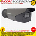 Hikvision 5MP 2.7 - 13.5mm motorized varifocal lens 40m IR EXIR HD-TVI POC Bullet Camera - DS-2CE16H0T-IT3ZE/GREY