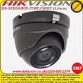 Hikvision 5MP 2.8mm fixed lens 20m IR IP67 EXIR AHD TVI Eyeball Camera - DS-2CE56H0T-ITMF/GREY
