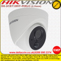 Hikvision 5MP 2.8mm fixed lens 20m IR IP67 PIR Detection, visual alarm, strobe light alarm, alarm out Turret Camera - DS-2CE71H0T-PIRLO