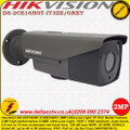Hikvision 2MP 2.8mm - 12mm motorized varifocal ultra-low light 40Mm IR EXIR IP67 PoC Bullet Camera - DS-2CE16D8T-IT3ZE/GREY