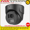 Hikvision 2MP 2.8mm fixed lens 20m IR smart IR TVI/ CVI/ AHD Black Mini Turret Camera - DS-2CE70D0T-ITMF