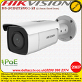 Hikvision DS-2CD2T26G1-2I 2MP 2.8mm fixed lens 50m IR H.265 H.264 PoE Acusense Easyip 4.0  Network Bullet Camera