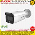 Hikvision DS-2CD2T46G1-4I/SL 4MP 2.8mm fixed lens Acusense Easyip 4.0 Strobe light 80m IR IP Network Bullet Camera