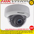 Hikvision DS-2CE56D8T-ITZ 2MP 2.8-12mm Motorised Varifocal Lens 20m IR Turbo HD Ultra -Low Light EXIR Dome Camera