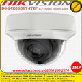 Hikvision DS-2CE56D8T-ITZF 2MP 2.7 mm to 13.5 mm motorized varifocal lens 60m IR Ultra Low Light WDR TVI/AHD/CVI/CVBS Dome Camera