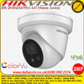 Hikvision DS-2CD2327G1-LU 2MP 4mm Fixed Lens 30m IR IP66 Built-in mic ColorVu Network IP Turret Camera