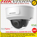 Hikvision DS-2CD2125G0-IMS 2MP 2.8mm Fixed Lens 30m IR Darfighter 120dB WDR IK10 Vandalproof Indoor IP Network Dome Camera