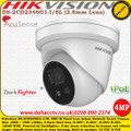 Hikvision DS-2CD2346G1-I/SL 4MP 2.8mm Fixed Lens 30m IR AcuSense Darkfighter Indoor IP Network Turret Camera