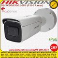 Hikvision DS-2CD2626G1-IZS 2MP 2.8 - 12mm Varifocal Lens 50m IR EASYIP 4.0 AcuSense False alarm reduction IP67 IK10 Support on-board storage PoE IP Network Bullet Camera