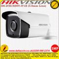 Hikvision DS-2CE16D0T-IT1E 2MP 3.6mm Fixed Lens 20m IR IP66 Outdoor HD 1080p PoC EXIR Bullet Camera