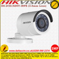 Hikvision DS-2CE16D0T-IRPE 2MP 3.6mm Fixed Lens 20m IR IP66  PoC Outdoor Turbo HD Bullet Camera