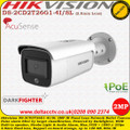 Hikvision DS-2CD2T26G1-4I/SL 2MP 2.8mm Fixed Lens 80m IR  AcuSense EASYIP 4.0 with Strobe Light & Audio Alarm Darkfighter Network Bullet Camera
