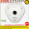 Hikvision DS-2CD6332FWD-IS 3MP 1.19mm Lens 15m IR Built-in microphone and speaker 120dB WDR Network Fisheye Camera
