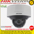 Hikvision DS-2CD5526G0-IZHS 2MP 2.8-12mm Motorized Varifocal Lens 30m IR Darkfighter Built in MicroSD Card Slot IP67 IK10 Network Dome Camera