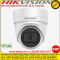 Hikvision DS-2CD2H83G0-IZS 8MP 4K 2.8-12mm Varifocal Lens 30m IR 120dB WDR IP67 IK10 Built-in Micro SD/SDHC/SDXC Card Slot, up to 128 GB Network Turret Camera