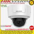 Hikvision DS-2CD2765G0-IZS 6MP 2.8-12 mm Varifocal Lens 30m IR Darkfighter IP66 IK10 WDR Network Dome Camera