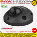 Hikvision DS-2CD2545FWD-IS/B 4MP 2.8mm Fixed Lens 10m IR Darkfighter WDR IP66 Built-in microSD/SDHC/SDXC card slot, up to 128 GB Audio Mini Dome Network Camera