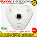Hikvision DS-2CD63C5G0-IS 12MP 1.29mm Lens 15m IR Range Built-in microphone and speaker 120 dB WDR DeepinView 360 Degree Network Fisheye Camera