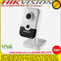 Hikvision DS-2CD2455FWD-IW 5MP 2.8mm Fixed Lens 10m PIR Wi-Fi Built-in Micro SD/SDHC/SDXC slot 120dB WDR Network Cube Camera