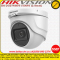 Hikvision DS-2CE76H0T-ITMFS 5MP 2.8mm Fixed lens 30m IR Built-in mic IP67 EXIR WDR 4 in 1 video output (switchable TVI/AHD/CVI/CVBS)  Turret Camera
