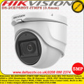 Hikvision DS-2CE76H0T-ITMFS 5MP 3.6mm Fixed lens  30m IR Built-in mic IP67 EXIR WDR 4 in 1 video output (switchable TVI/AHD/CVI/CVBS) Turret Camera