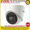 Hikvision 5MP DS-2CE78H8T-IT3F 2.8mm Fixed lens Ultra low light Up to 60m IR Distance IP67 Weatherproof TVI/ CVI/ AHD/CVBS Turret Camera