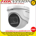 Hikvision DS-2CE76H8T-ITMF 5MP 2.8mm Fixed lens Ultra low light Up to 30m IR Distance IP67 Weatherproof TVI/ CVI/ AHD Turret Camera
