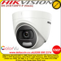 Hikvision DS-2CE72HFT-F 5MP 6mm Fixed Lens IP67 4 in 1 video output TVI/AHD/CVI/CVBS ColorVu Turret Camera