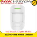 Ajax MOTIONPROTECT- WHITE Wireless motion detector that notifies the owner of the first signs of home or office intrusion