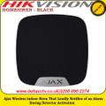 Ajax HOMESIREN - BLACK Wireless indoor siren that loudly notifies of an alarm during detector activation