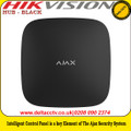 Ajax HUB - BLACK Intelligent control panel is a key element of the Ajax security system