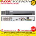 Hikvision DS-7208HUHI-K1(S) 8 Channel Turbo HD DVR 5MP 1 SATA Audio via coaxial cable H.265 video compression HDTVI/AHD/CVI/CVBS/IP video input