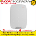 Ajax  KEYPAD - WHITE  Wireless touch keypad is used for arming/disarming of Ajax security system