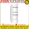MOTIONPROTECT PLUS OUTDOOR - WHITE Wireless outdoor motion detector with intelligent protection against false alarms
